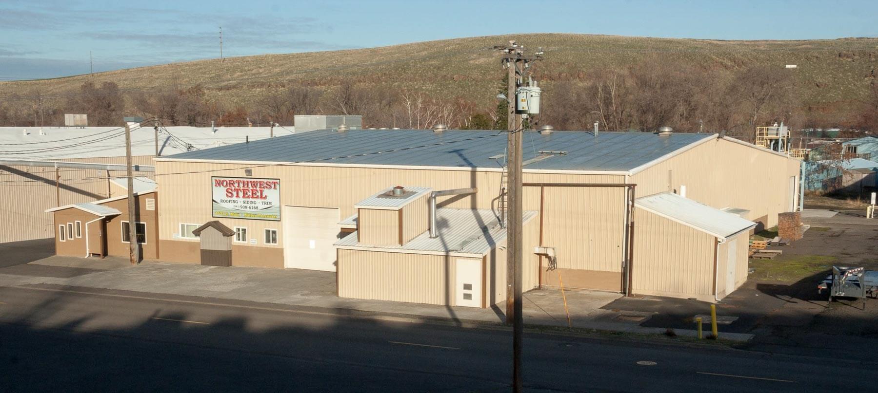 Northwest Steel Milton Freewater, OR location