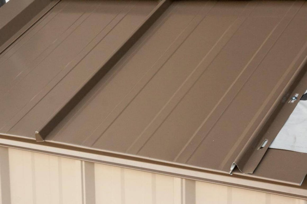 Standing seam panel by Northwest Steel